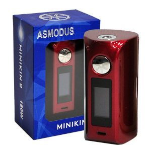 Mods Box electronique - Asmodus - MINIKIN 2 ASMODUS (Rouge) - Smoke clean à Etampes 91150 en Essonne 91 France