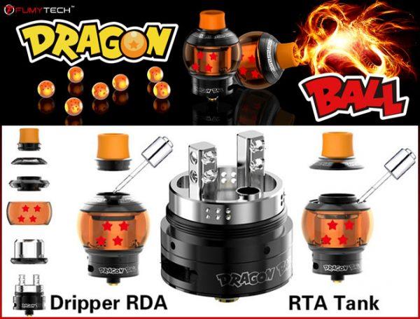 Atomiseur - Reconstructible - Dragon Ball RTA & RDA – Fumytech - smoke clean à Etampes 91150 en Essonne 91, France