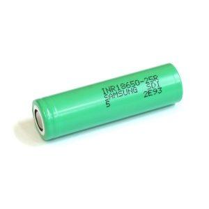 Accessoires - Accus - SAMSUNG INR 18650-25R de 2500mAh - smoke clean à Etampes 91150 en Essonne 91, France