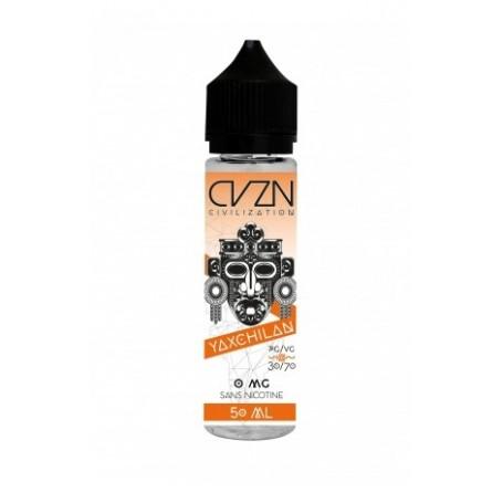 Eliquide - Civilization - yaxchilan 50ml - Smoke clean à Etampes 91150 en Essonne 91 France