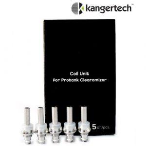 Resistances / Coils - Résistances Kangertech EVOD 1.6 ohm , ProTank - smoke clean à Etampes 91150 en Essonne 91, France