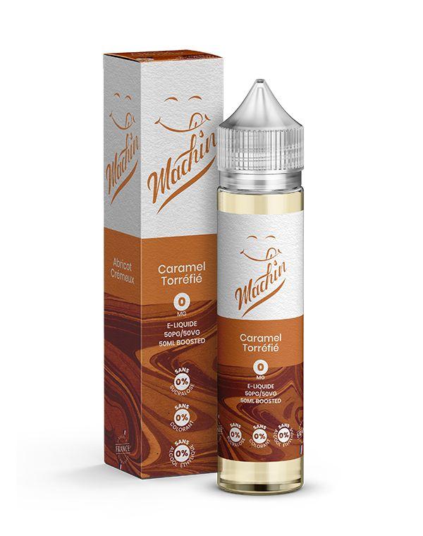 E-liquide - Caramel Torréfié - Machin - Smoke clean à Etampes 91150 en Essonne 91 France