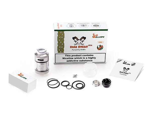 Atomiseur - Reconstructible - Dead Rabbit RTA 2ml/4.5ml 24mm – Hellvape - smoke clean à Etampes 91150 en Essonne 91, France