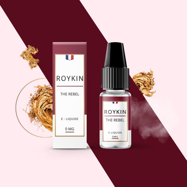 Eliquide - Roykin - THE REBEL - Smoke clean à Etampes 91150 en Essonne 91 France