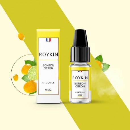 Eliquide - Roykin - bonbon citron - Smoke clean à Etampes 91150 en Essonne 91 France