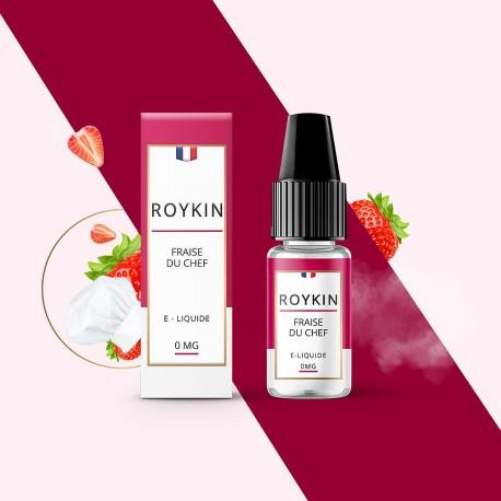 Eliquide - Roykin - fraise du chef - Smoke clean à Etampes 91150 en Essonne 91 France
