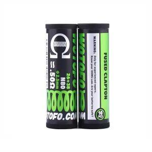 Resistances / Coils - Fused Clapton Coils 26+38G 10pcs – Wotofo - smoke clean à Etampes 91150 en Essonne 91, France