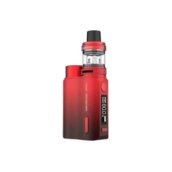 Kits E-cigarettes - vaporesso - Kit Swag II NRG PE 3,5ml 80W rouge - Smoke clean à Etampes 91150 en Essonne 91 France
