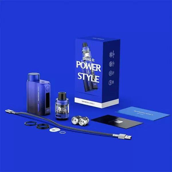 Kits E-cigarettes - vaporesso - Kit Swag II NRG PE 3,5ml 80W blue - Smoke clean à Etampes 91150 en Essonne 91 France